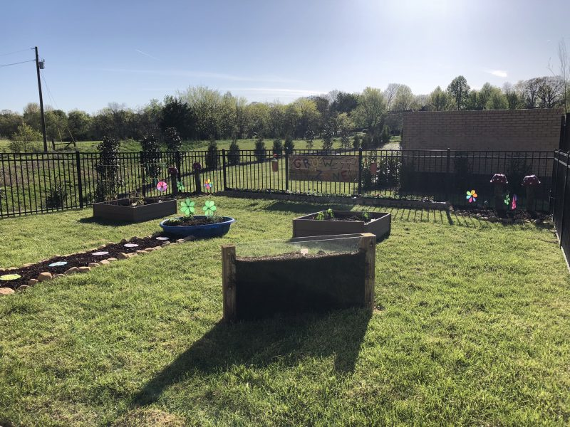 Gardening at Learning Zone Daycare in Murfreesboro, TN | Learning Zone